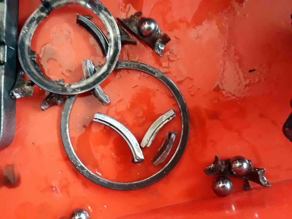 VW T6 gyári hibás csapágy